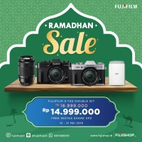 Fujifilm X-T20 Double Lens XC 16-50mm + XC 50-230mm Black