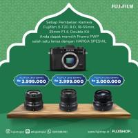 Fujifilm X-T20 18-55mm Black + XF 35mm f2 - black