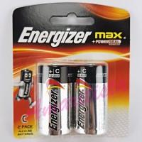 Baterai Energizer Size C LR14 ukuran sedang 1.5 V ALKALINE