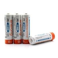 Enelong Rechargeable AA (HR6 / MN1500) Ni-Mh Batteries 2100mAh - 4 Pcs