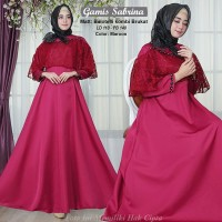 Jual Gamis Pesta Model Gaun Pesta Muslim Terbaru Elegan 2019