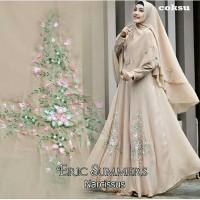 Baju Gamis Wanita Syari Maxi Narcissus 08 Muslim Terbaru MURAH