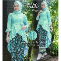 Baju Kebaya Wanita SET BATIK VITRI RD Muslim Terbaru MURAH