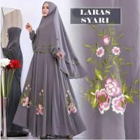 Baju Gamis Wanita Syari Maxi Syari Laras 08 Muslim Terbaru MURAH