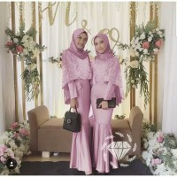 Baju Kebaya Modern Wanita MAXY AZKA MERMAID Dress Muslim Terbaru MURAH