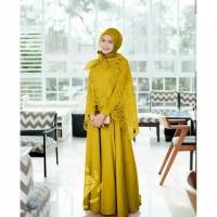 Baju Gamis Wanita MAXY HANIZA 2IN1 VV Muslim Terbaru MURAH