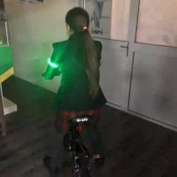 gelang lampu red gelang sepeda