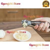 Alat Penghancur Bawang Garlic Press bahan Stainless Serbaguna Terbaru