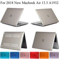 Casing 2018 Baru Glossy Macbook Air 13 A1932 Kasus Pelindung MacbookAi