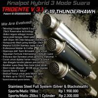 Tridente F19 Thunderhawk 150cc Fullsystem