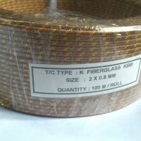 Kabel Thermocouple K fibberglass