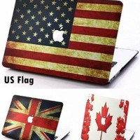 Dijual Pattern FLAG Case for Macbook Pro 13 Berkualitas