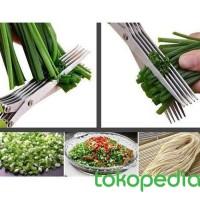 MAYDAY - Gunting Pemotong Sayuran 5 Layer