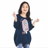 Untuk Anak T Shirt Casual Baju Kaos Anak Cewek Wanita CJR410 Kualitas