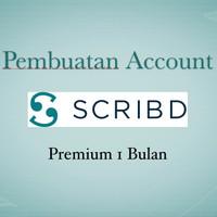 Pembuatan Account scribd Premium 1 bulan Legal