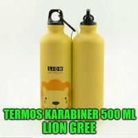 Termos Karabiner Botol Air 500 ml Tahan Panas Dingin RT4002