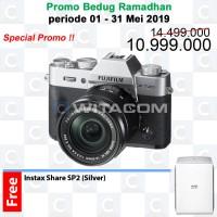 Fujifilm X-T20 / XT20 Kit XC16-50mm f3.5-5.6 - Silver