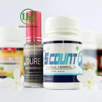 Durevel Spray Plus Scount Paket Hemat Obat Tahan Lama Penyubur Sperma