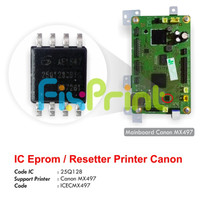 IC Eprom MX497 Canon, IC Eeprom Reset Canon MX497, IC Counter MX-497
