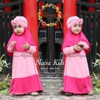 Baju muslim anak baby bayi 1 2 3 tahun bahan adem Jersey