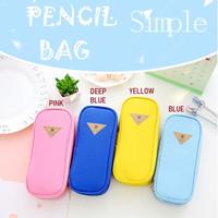 Kotak Pensil - Desain Warna Candy / Pencil Bag / Tempat Pensil Pen