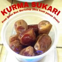 Kurma Sukari Madinah fresh 150 gram simpan Di frezzer Normal