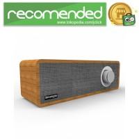 Smalody Wooden Bluetooth Speaker Stereo Soundbar - SL-50 - Gray