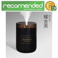 Ultrasonic Air Humidifier Romantic Candle Essential Oil 280ml - H204