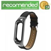 Strap Watchband Kulit PU Leather for Xiaomi Mi Band 3 - CBXM328 - Hit