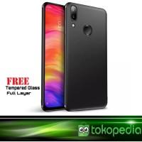 Case Xiaomi Redmi 7 Premium Softcase Free Tempered Glass