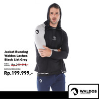 Promo Jaket Running Training Gym Fitness Casual Waldos Lachos NEW !!