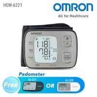 OMRON WRIST AUTOMATIC BLOOD PRESSURE MONITOR HEM-6221