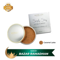 Mustika Ratu Simply Stay Loose Powder Caramel 20gr