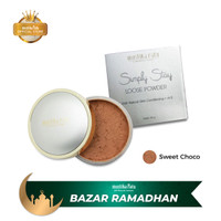 Mustika Ratu Simply Stay Loose Powder Sweet Choco 20gr Bedak Tabur