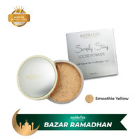 Mustika Ratu Simply Stay Loose Powder Smoothie Yellow 20gr
