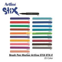 ARTLINE MARKER ETX-F STIK BRUSH