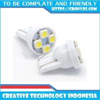 Lampu Senja LED T10 Putih Sein Kota