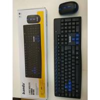 AY Mouse + Keyboard Wireless Banda W400