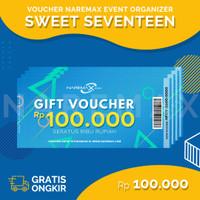 Voucher Jasa Event Organizer Ulang Tahun Anak Sweet Seventeen 100rb
