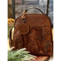 BACKPACK : MINI BEEP CARVING AND PATCHWORK (PREORDER)