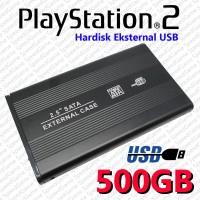 Hardisk / HDD / Hardisk Eksternal PS2 / PS3 500GB - Full Game