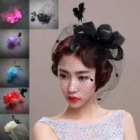 Fascinators Hat Topi Fashion Aksesoris Rambut Aksesorimaya