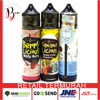 Mallow| Berry | Choco | Bananalicious Liquid Vape Authentic Pita Cukai
