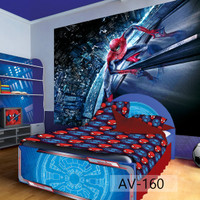 Wallpaper Custom Spiderman 3D - Wallpaper Custom Anak Murah