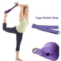 Yoga Strap/Stretch Strap Yoga/ Alat Yoga/ Yoga Belt/ Alat Gym Fitnes