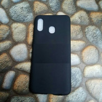 Softcase Slim Black Matte Samsung A30