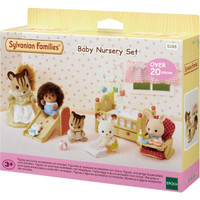 Mainan Koleksi Sylvanian Families Baby Nursery Set