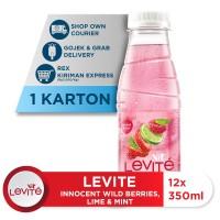 Levite Minuman Berasa BEJEMIN: Berries, Jeruk & Mint 350ml (12 botol)