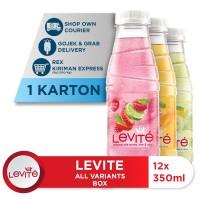 Levite Minuman Berasa Mix Variants 350ml (12 botol)