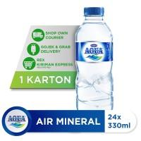 AQUA Air Mineral 330ml (24 botol) [P]
